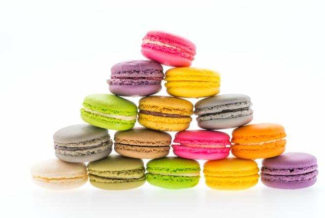 Francuski macaroni s manje šećera