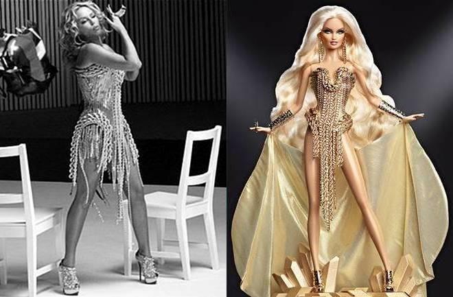 Barbie lutka kao Kylie Minogue