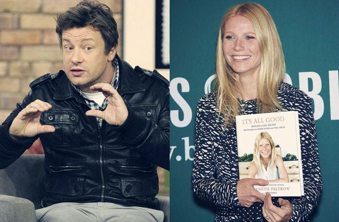 Gwyneth Paltrow uči kuhati od Jamieja Olivera