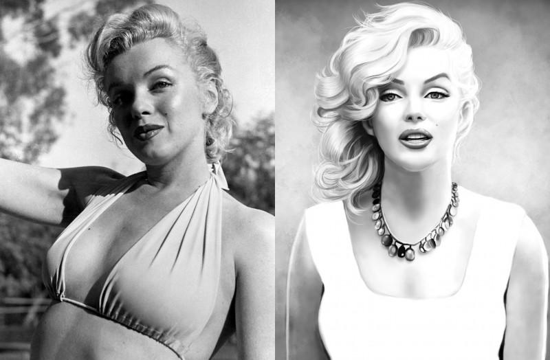 I Marilyn Monroe je imala estetske operacije