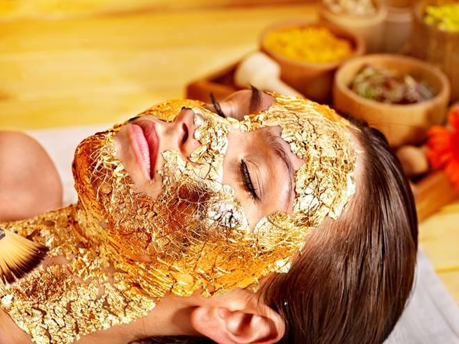maska zlato