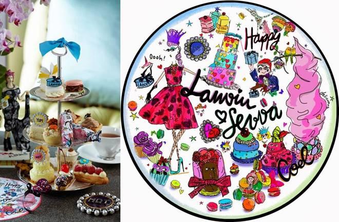 Fashion čajanka uz Lanvin
