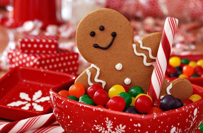 gingerbread man poklon
