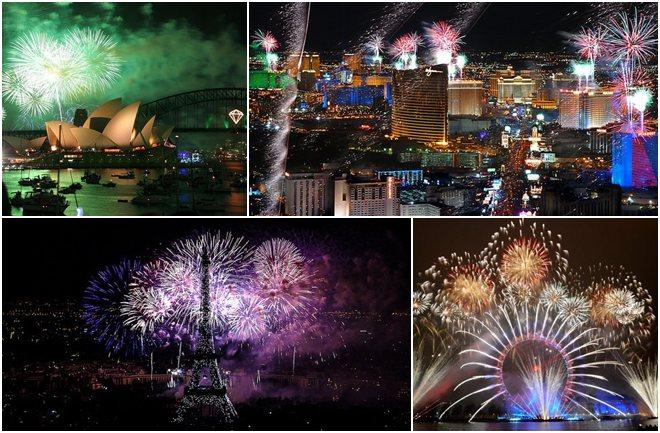 Najbolji novogodišnji vatrometi na svijetu