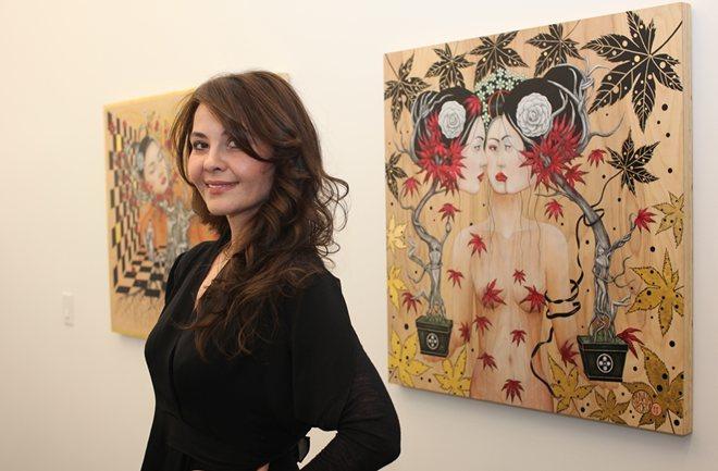 Hrvatska slikarica Renata Šporčić na izložbi u New Yorku