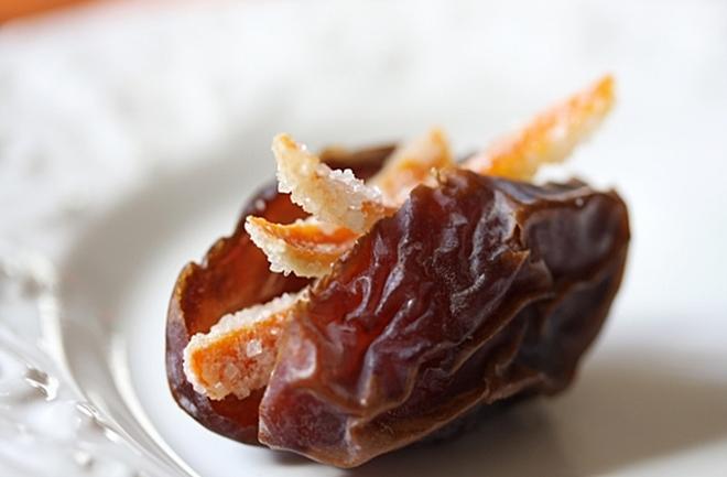 Datulje s arancinima – maštoviti recept ili poklon