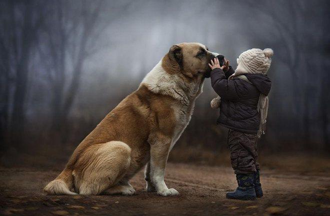 Elena Shumilova: Posebna veza između životinja i djece