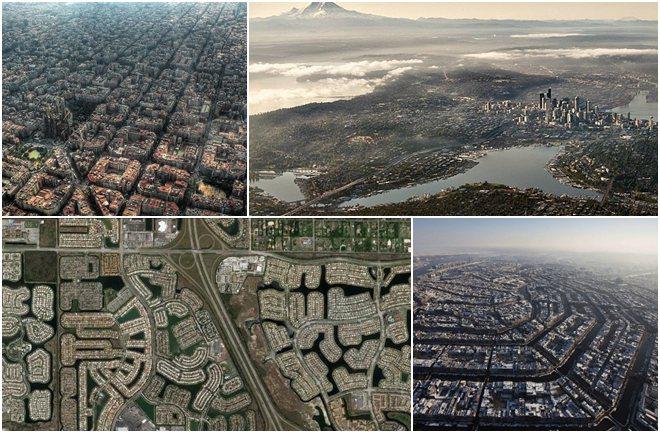 Barcelona, Dubai i Pariz iz ptičje perspektive