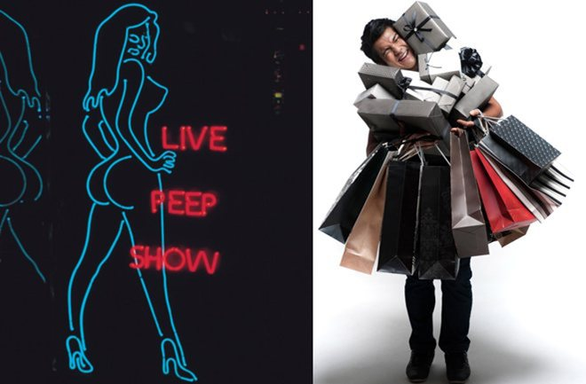 Muškarci vole shopping, a ne striptiz barove