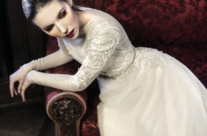 Bajkovite vjenčanice Alduk Bridal kampanje