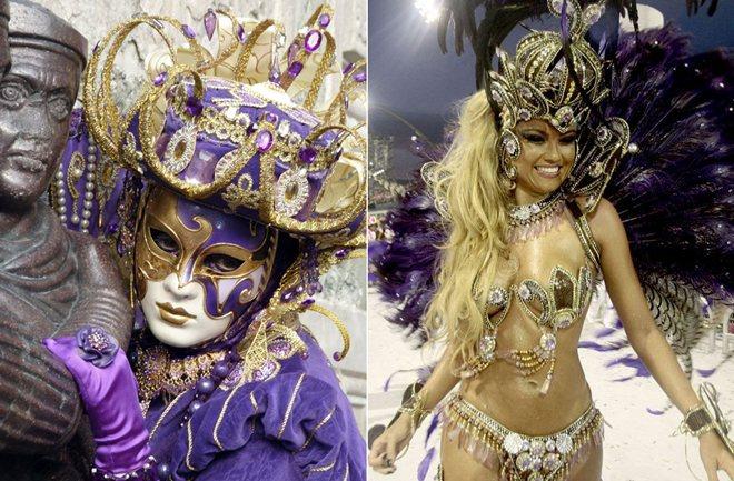 Venecija vs. Rio de Jainero – najbolje karnevalske zabave