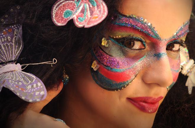 Kako se našminkati za karneval
