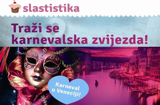 Slastistika Vas vodi na karneval u Veneciju