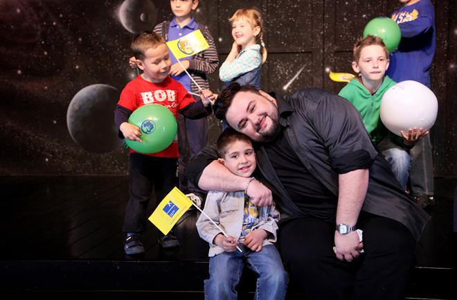 Jacques Houdek razveselio mališane SOS Dječjeg sela Lekenik