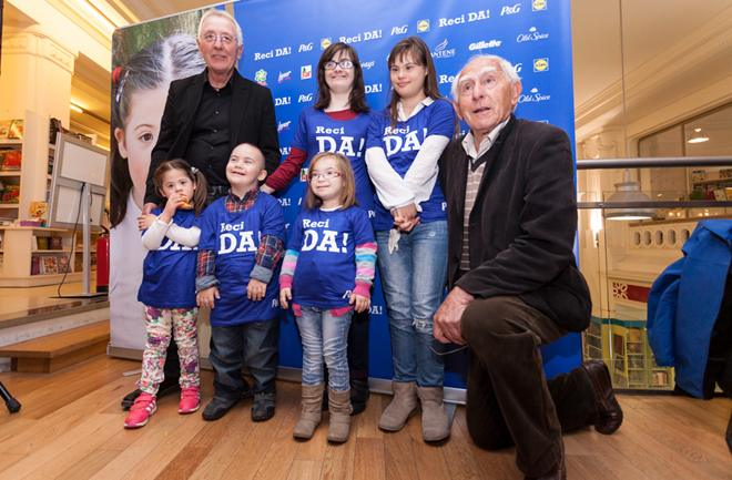 Reci DA!_Oliver Dragojevic i Mladen Kusec s djecom