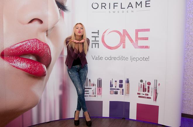 Tina Katanic_ ambasadorica The One kolekcije by Oriflame za Hrvatsku