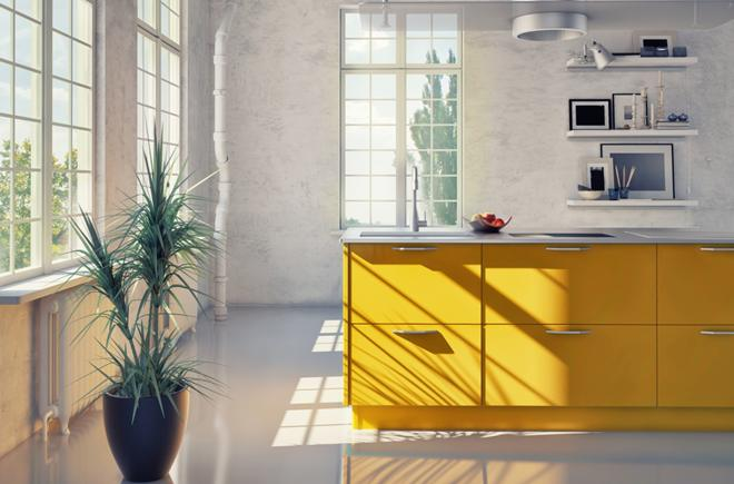 Žuti detalji unose radost u dom