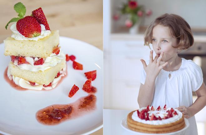 Tortice s jagodom i bijelom čokoladom