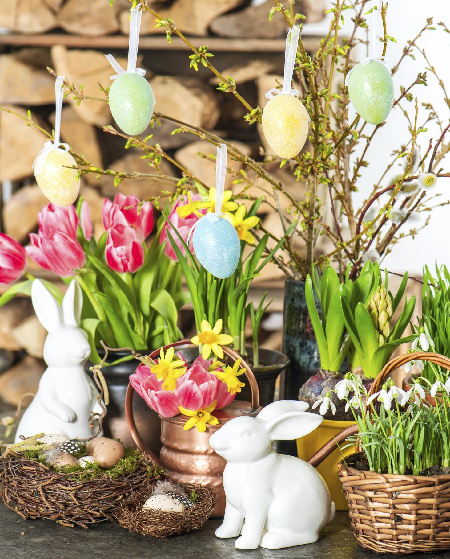 uskrsnja dekoracija cvjetna1