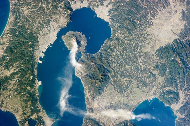 zemlja erupcija Sakurajima