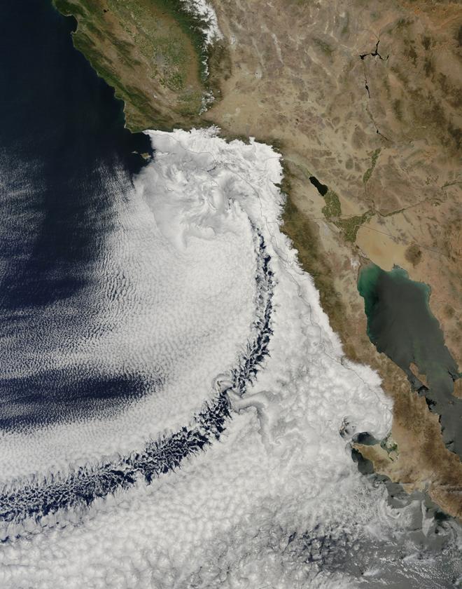 zemlja kalifornija_oblaci