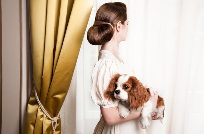 Glamurozne frizure 'za po doma'