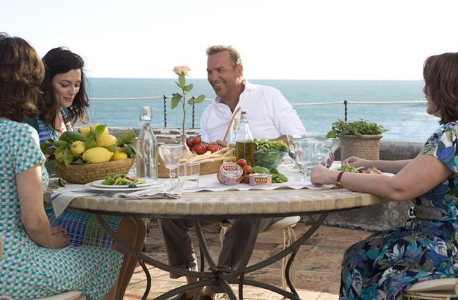 Kevin Costner otkriva okuse Italije