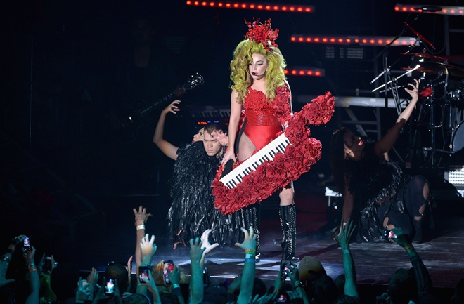 Lady Gaga Live at Roseland - April 7, 2014