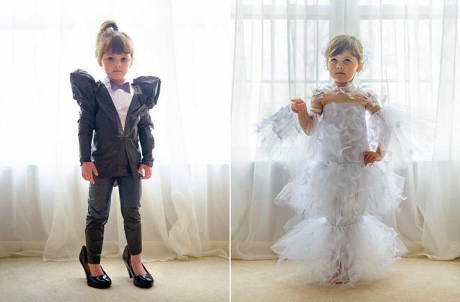 Četverogodišnja dizajnerica oduševila Vogue