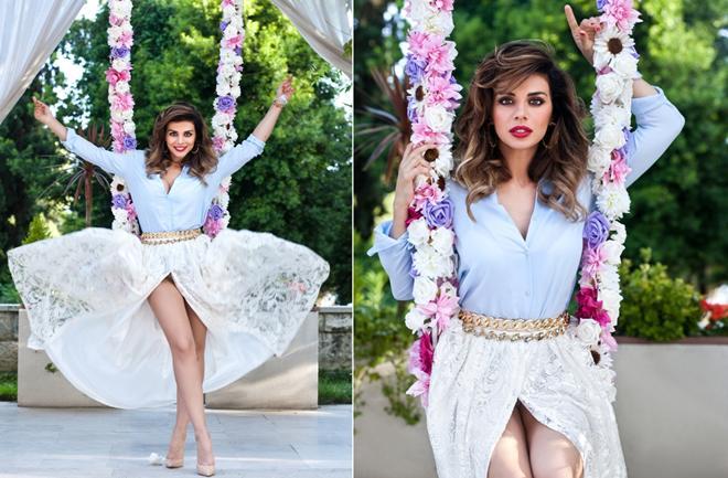 Ukrajinska zvijezda u Flowers kampanji Monike Sablić