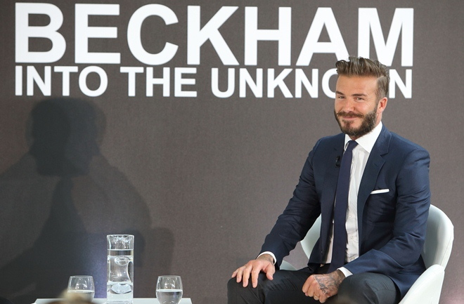 """""""David Beckham: Into The Unknown"""" - Photocall"""