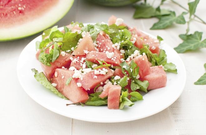 Ljetna salata od lubenice i feta sira