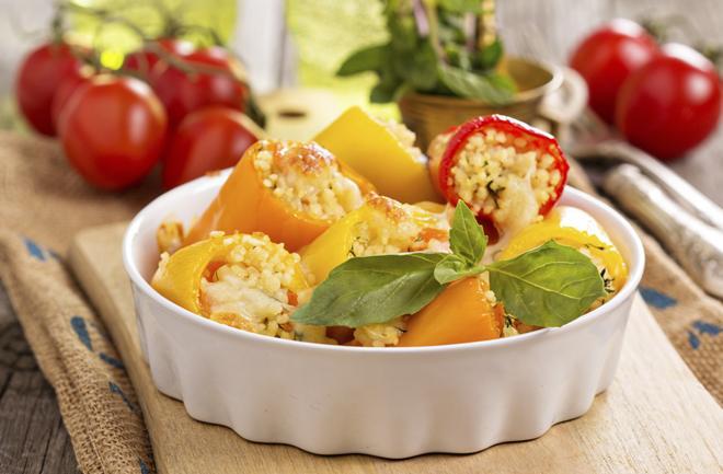 Paprike punjene couscousom