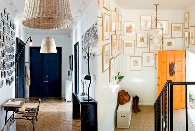 Jednostavne, a kreativne ideje za uređenje hodnika