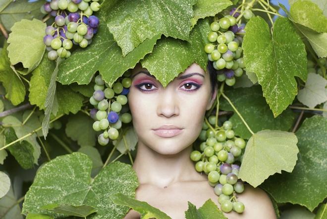 Kako napraviti masku od grožđa
