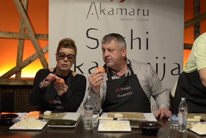 Na kulinarske radionice u japanski restoran Akamaru