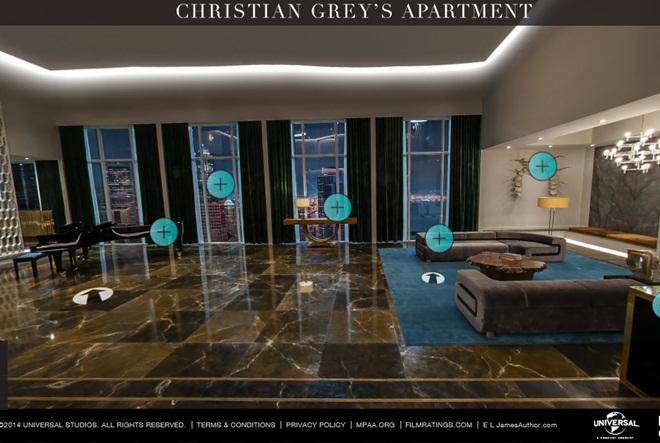 Christian Grey pušta vas u svoj stan