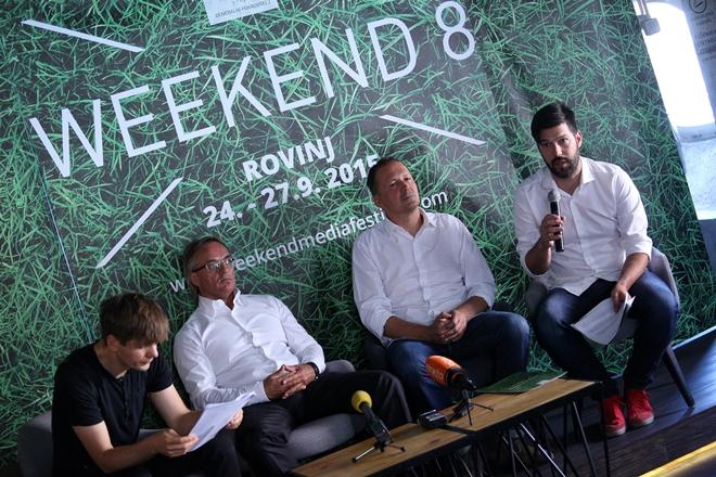 Weekend Media Festival pun medijskih atrakcija