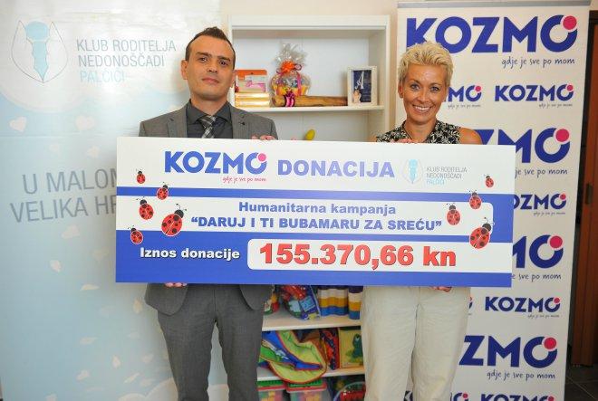 Kozmo prikupio 155.370,66 kuna za Palčiće