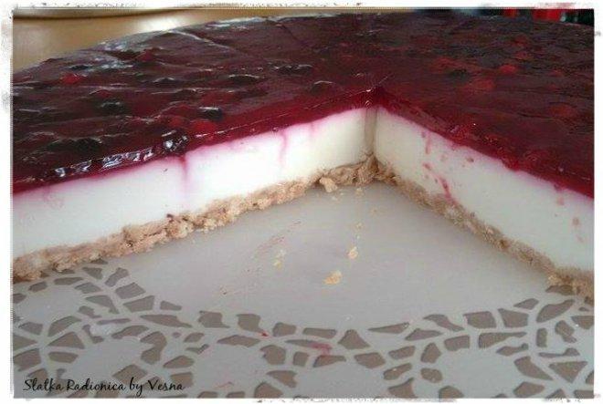 Nepečeni cheesecake