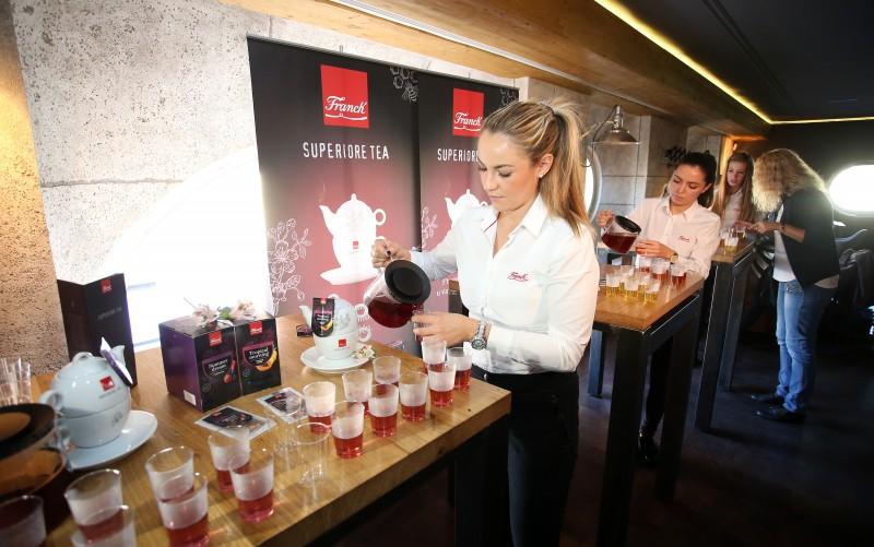 Franck predstavio novu premium liniju čajeva Superiore Tea