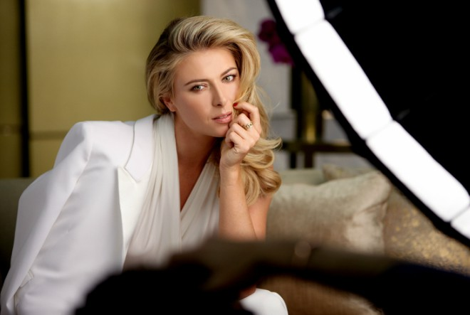 Maria Sharapova predstavlja novi Avon Luxe make-up