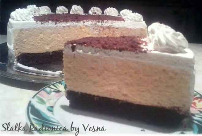 """Vesnina """"izmišljotina"""" – Pumpkin and orange cake"""