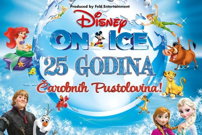 Tko želi pogledati Disney na ledu?