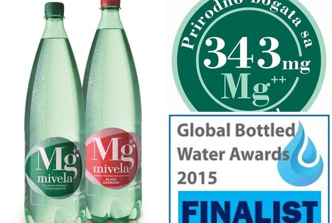 Mg Mivela u Top 3 minelanih voda na svijetu