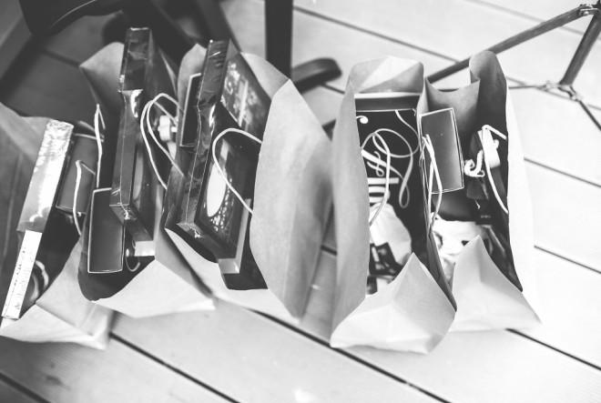 shoppin, pokloni