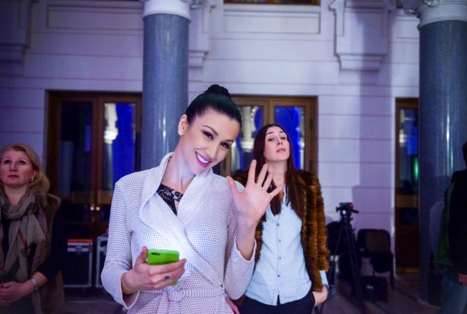 Ana Rucner na Eurosongu