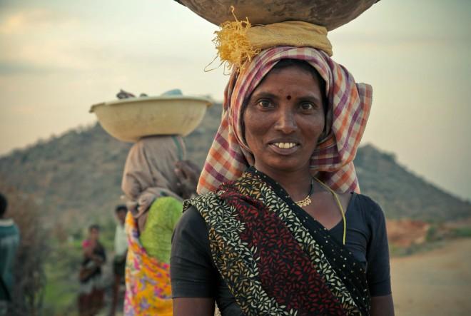 indija, žena