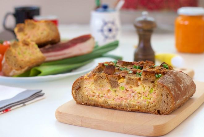 Šunka u kruhu na drukčiji način
