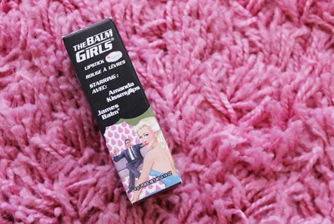RECENZIJA by Kike (Šminkoholičarke): theBalm Girls ruž Amanda Kissmylips